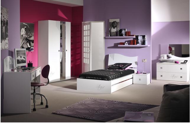 Comment d corer la chambre d une adolescente euro bsn - Decorer une chambre d ado fille ...