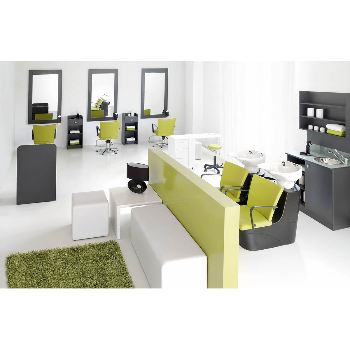les avantages d un mobilier de salon de coiffure design euro bsn. Black Bedroom Furniture Sets. Home Design Ideas