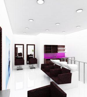 Les avantages d un mobilier de salon de coiffure design euro bsn - Agencement d un salon de coiffure ...